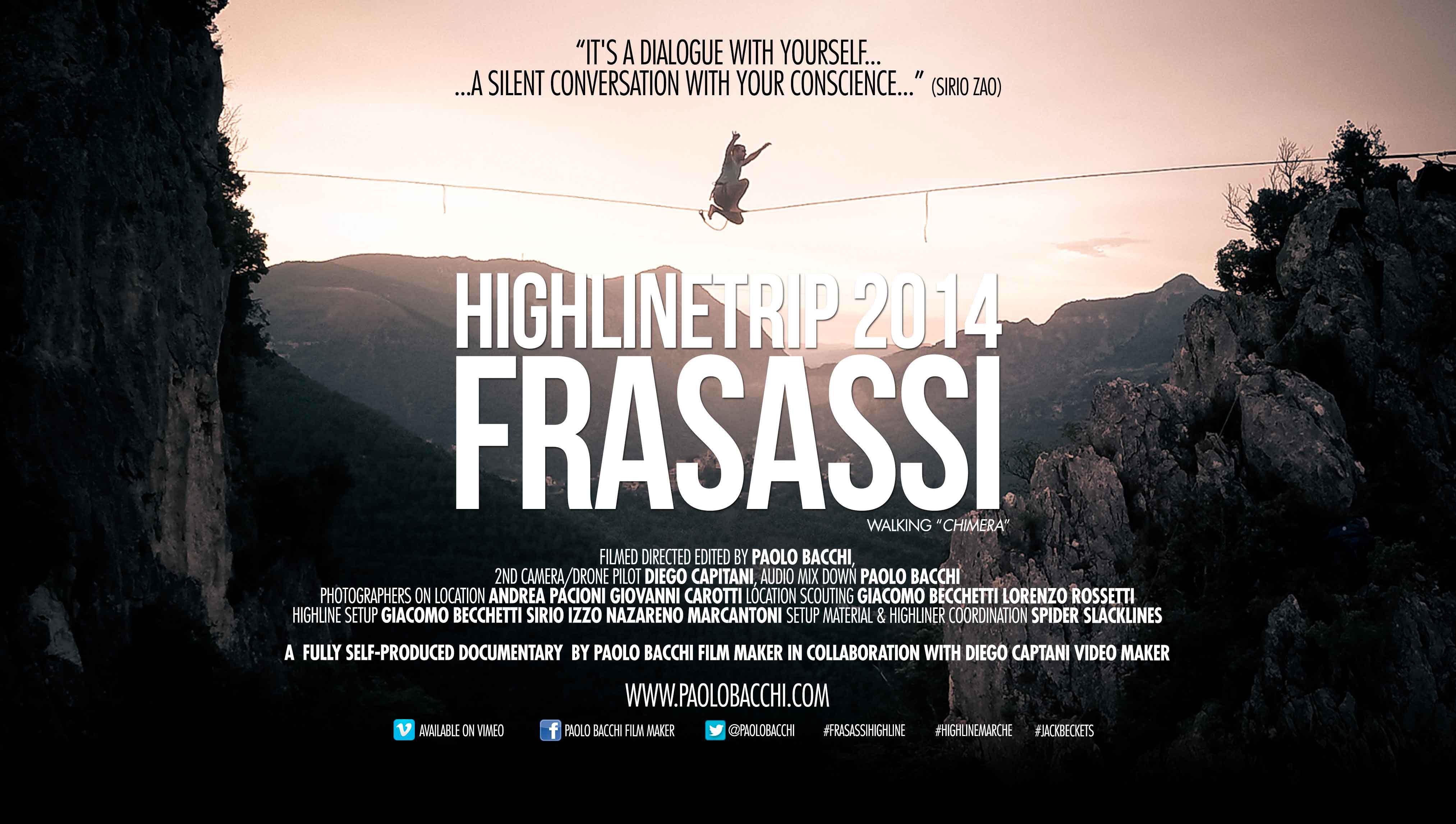 Highline Trip 2014 - Frasassi